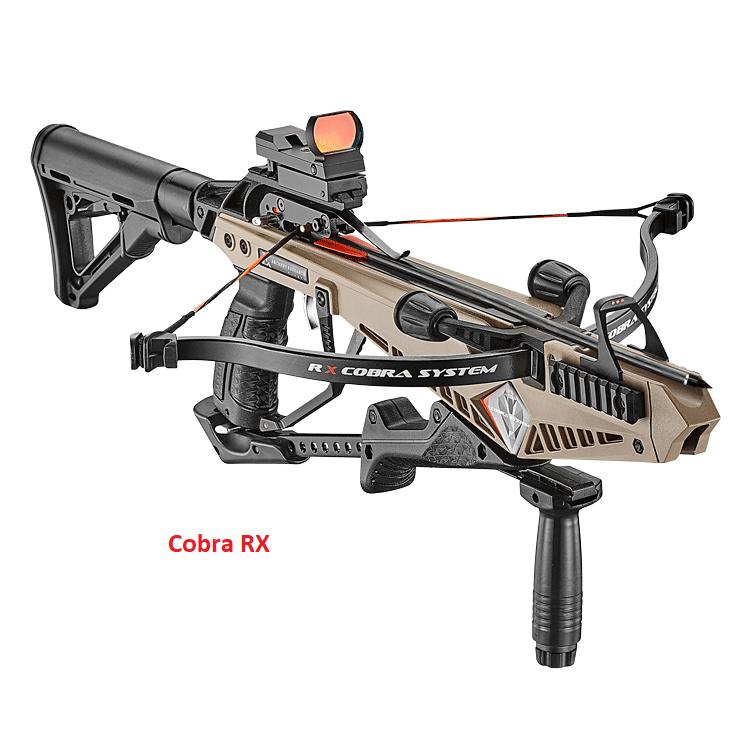 EK-Archery Cobra System R9 type RX 130 lbs met pees stoppers. OP VOORRAAD !