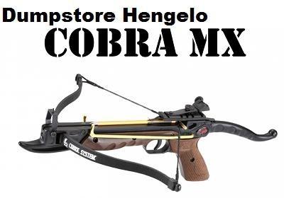 Kruisboogpistool 80 lbs Cobra Deluxe met snelspanner, wood. 44,05 euro
