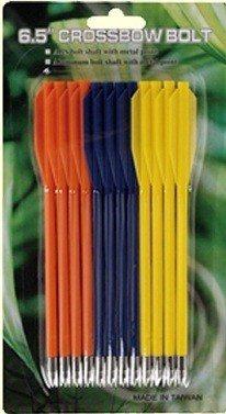 MK-PL-3C 6,5″ Plastic pijl, kleur tot 50 lbs