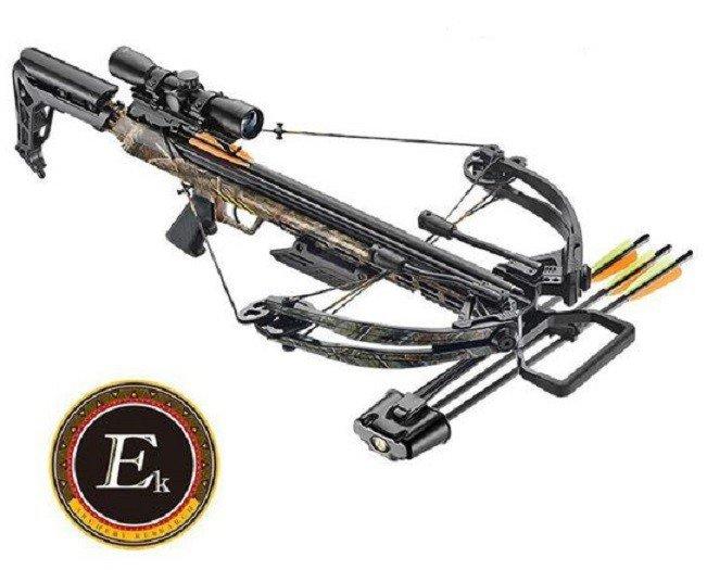Ballistic 370 Compound Kruisboog Ek-Archery 185 lbs 370 fps.