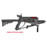COBRA SYSTEM ADDER EK Archery, met een magazijn voor 5 pijlen._