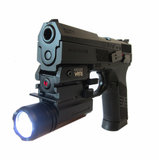 Pistol Rifle Flashlight 320lm, Wapenlamp._