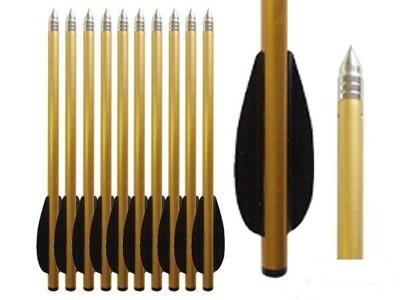 Hoogwaardige Cobra Aluminium TOP pijlen, geschikt tot 100 lbs
