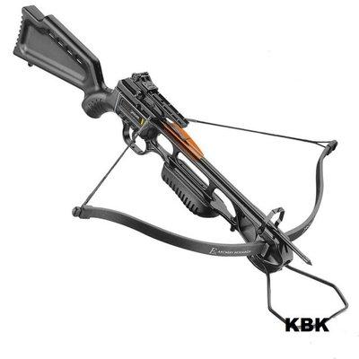 JAGUAR I CROSSBOW - 150 LBS - BLACK, EK Archery 89,99 euro met gratis verzending.
