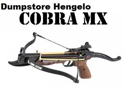 Kruisboogpistool 80 lbs Cobra Deluxe met snelspanner, wood. 41,40 euro