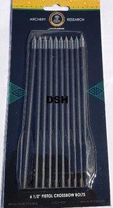 Cobra Pistoolkruisboogpijl zwart plastic, 10 stuks. 3,55 euro