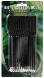 MK-PL-BK Zwarte Plastic pijl tot 50 lbs